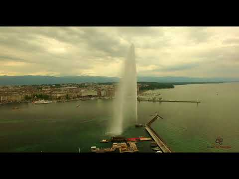 Jet d'eau de Genève | DJI Phantom 3 Professionnal | HD