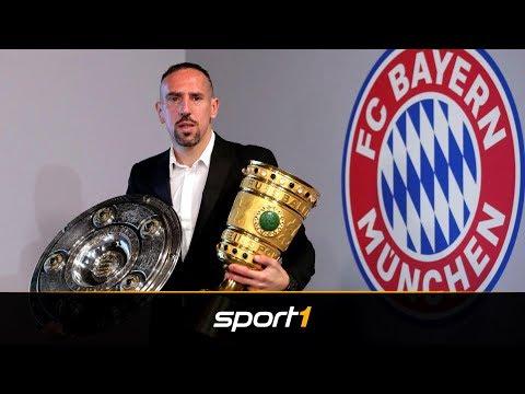 Zurück zum FC Bayern? Ribéry kann sich Amt beim FCB vorstellen | SPORT1 - DER TAG