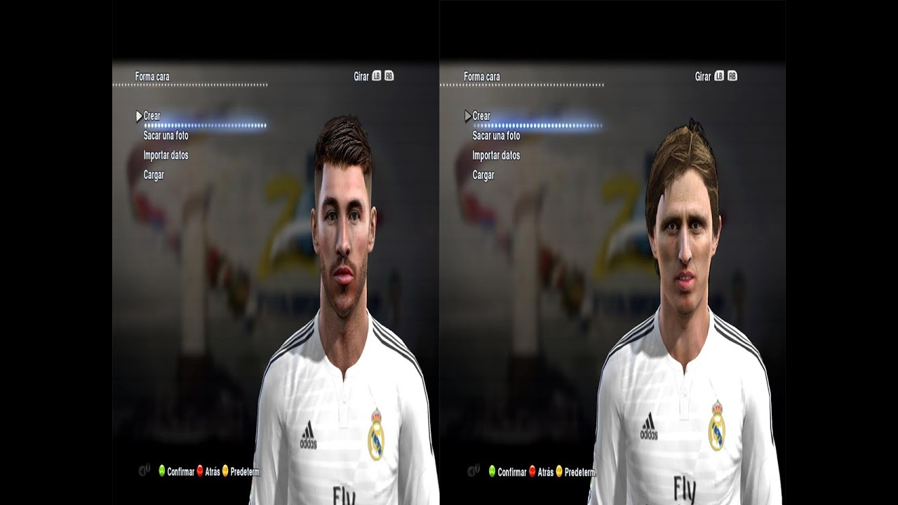 ultigamerz: PES 2013 Sergio Ramos 2015 Face
