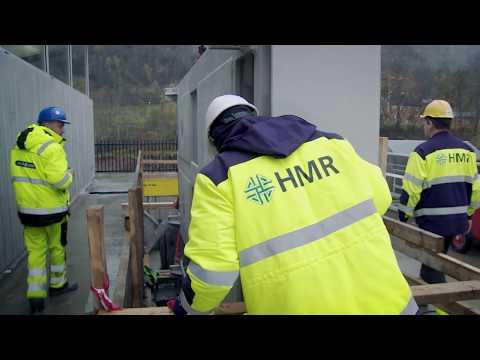 HMR Husnes AS - Byafossen kraftstasjon