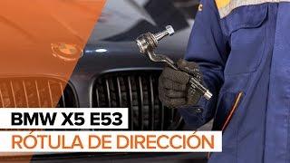 Reemplazar Rótula barra de dirección BMW X5: manual de taller