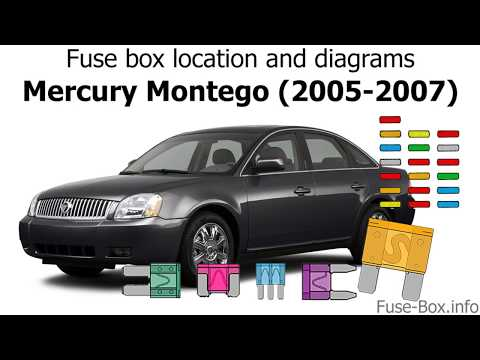 fuse box location and diagrams mercury montego (2005 2007 2007 Mercury Montego Fuse Box