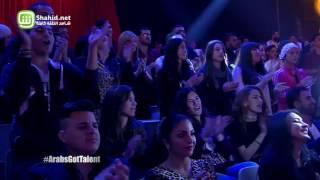 نجوى كرم مندمجة مع أغنية راب لأحد متسابقي Arabs Got Talent
