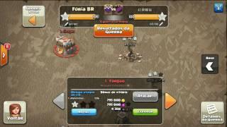 Artilharia Águia e Torre Inferno no Clash of Clans