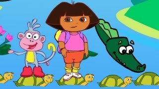 Dora Crocodile Lake Games-Girl Games-Girl Games