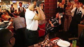 Meeting Salt Bae in Dubai at Nusret Steakhose ft. Ben Pol