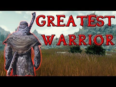 The Greatest Warrior In The Elder Scrolls - Elder Scrolls Lore