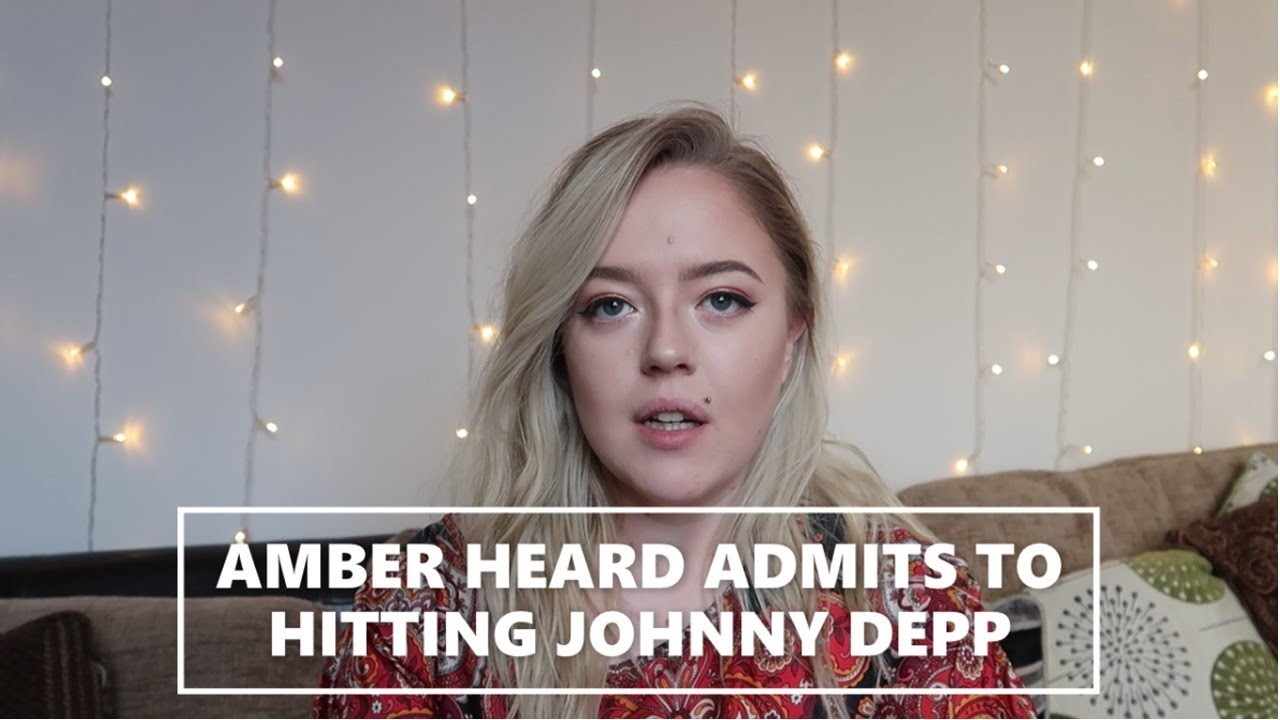 AMBER HEARD THE ACCUSER ADMITTED TO HITTING JOHNNY DEPP || Audio Tape REACTION and DISCUSSION
