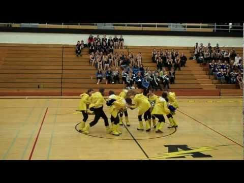 Coal City High School Poms Competition in Tinley Park 2013