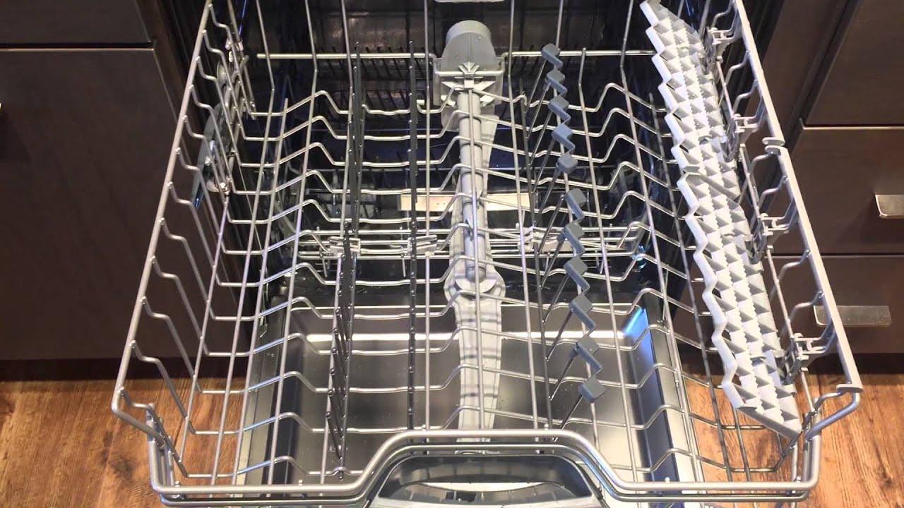 Quietest Dishwasher Bosch Quietest Dishwasher Demo Youtube