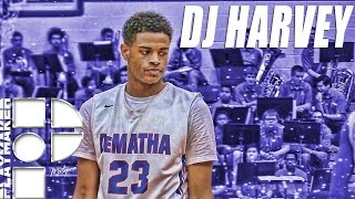 Dj harvey official sophomore mixtape! 5-star wing from dematha!