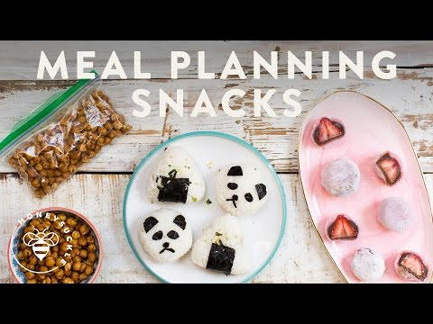 MEAL PLANNING 3 SNACKS - Honeysuckle