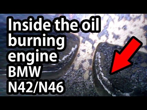 Effects of bad Valve Stem Seals - Oil burning in a BMW E46 N42/N46 engine