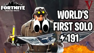 Soloing 191 With Game-Breaking Bugs... Ree!! | Fortnite Save the World (fr) TeamVASH TeamVASH