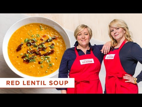 How to Make Easy Red Lentil Soup with North African Spices