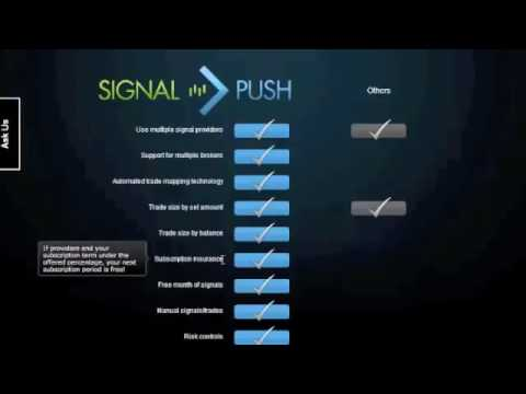 Signal Push Review - Auto Trade Copying Service