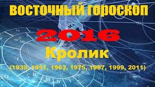 Восточный гороскоп на 2016 год для знака Кролик (Кот)