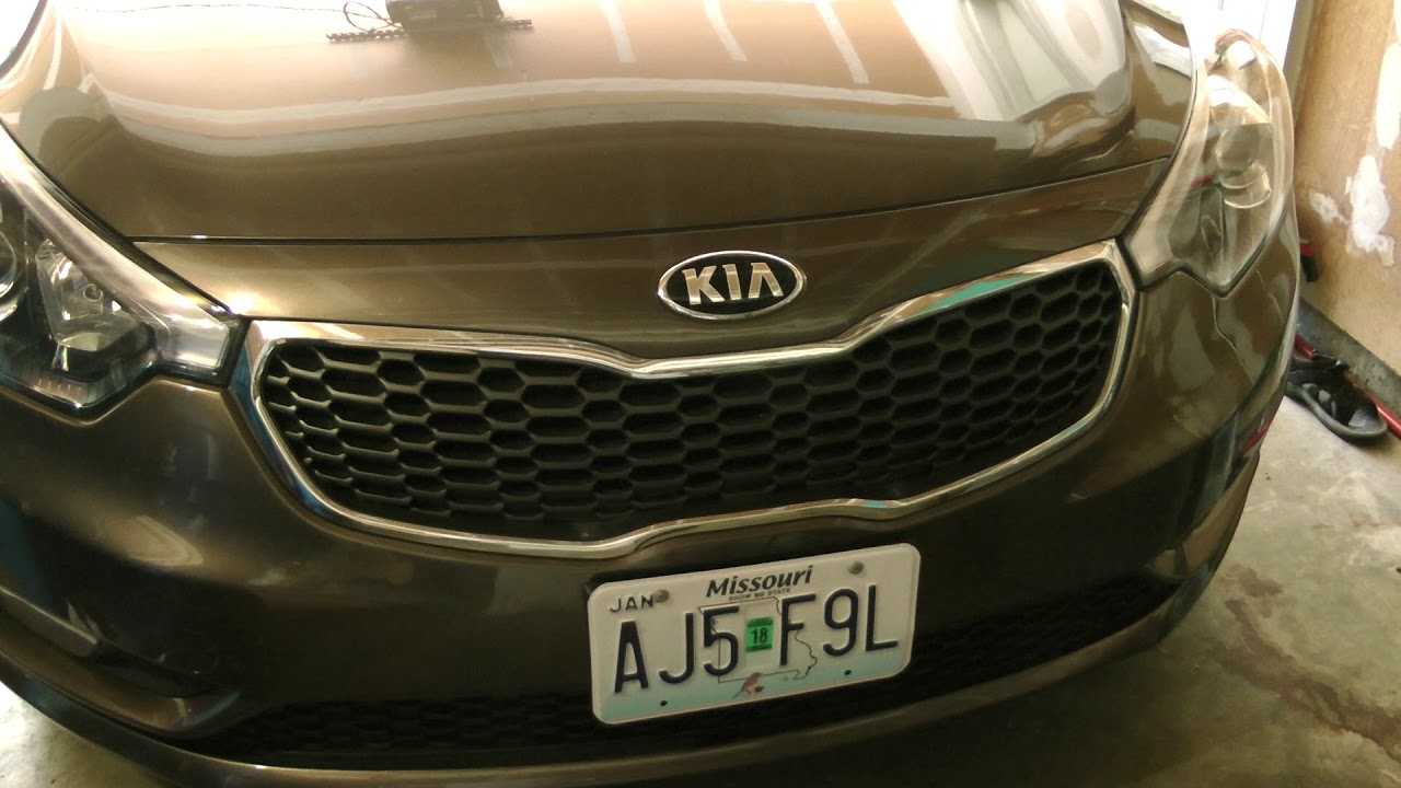 normal engine sound 2014 Kia 2 0 GDI inline 4 running 5W-30 syn with hood  closed