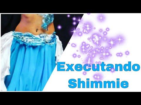 ✅Experimentando e Executando o ShimmieTremido Patrícia Cavalcante Dança do Ventre On-line