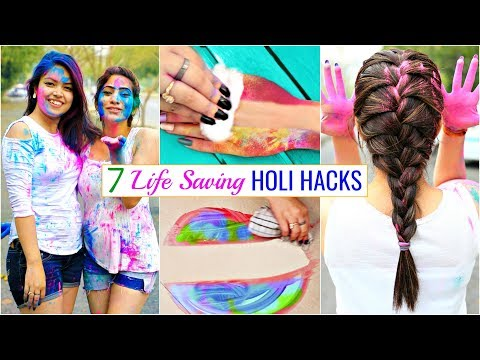 7 LIFE Saving HOLI Hacks You MUST Try | #Beauty #Haircare #Skincare # Anaysa
