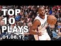 Top 10 Plays of the Night: 01.08.17