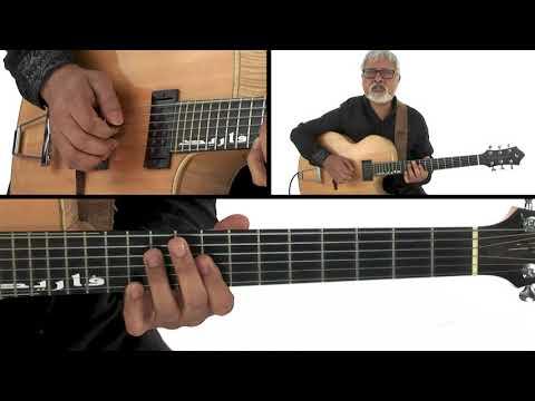 Soul Jazz Guitar Lesson - Mixing Major & Minor Blues - Fareed Haque