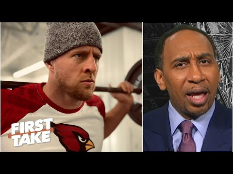J.J. Watt doesn't make the Cardinals a threat to win the NFC West - Stephen A.   First Take