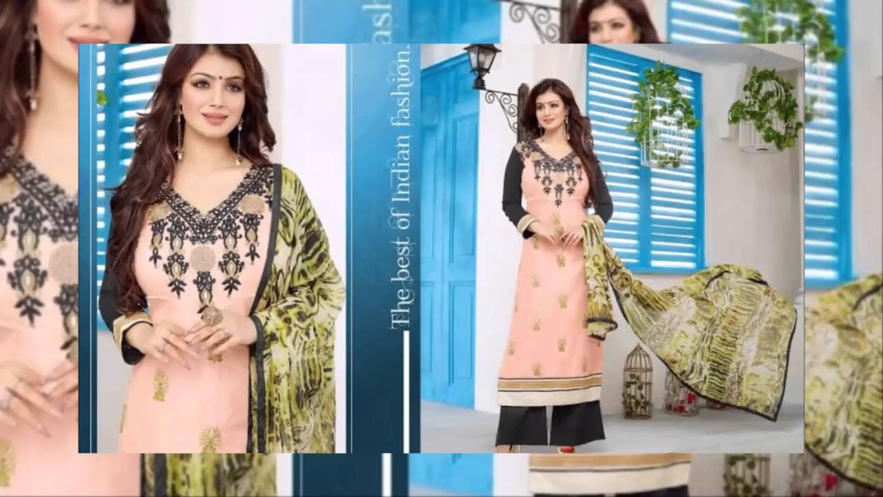Cotton Embroidery Salwar Suits Latest Collection latest fashion ...