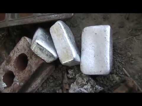 Part 3 Pour Ingots My Free Homemade Waste Veg Or Motor Oil Burner