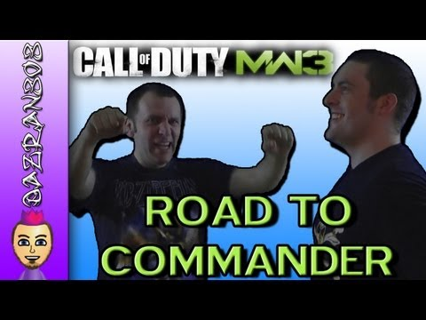 Road To Commander - MW3 Wii (Dazran303 & MadMike series Intro)