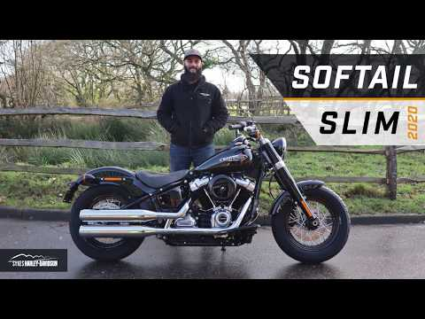 2020 Harley-Davidson Softail Slim Walkthrough Talkthrough