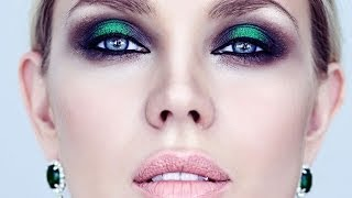 Макияж smoky eyes зеленый визаж. Life in color 002. Наталья Шик(, 2014-03-26T11:39:05.000Z)