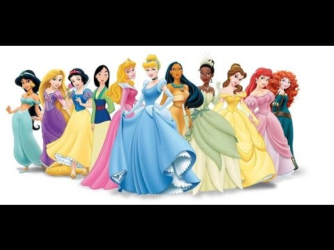 All Disney Princess ... With Names Costumes and Shoes  sc 1 st  YouTube & All Disney Princess ... With Names Costumes and Shoes - YouTube