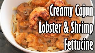 Creamy Cajun Lobster &amp Shrimp  Chef Lorious