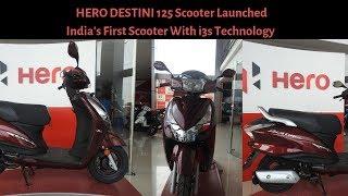 Hero Destini 125 i3S Detailed Review 2018