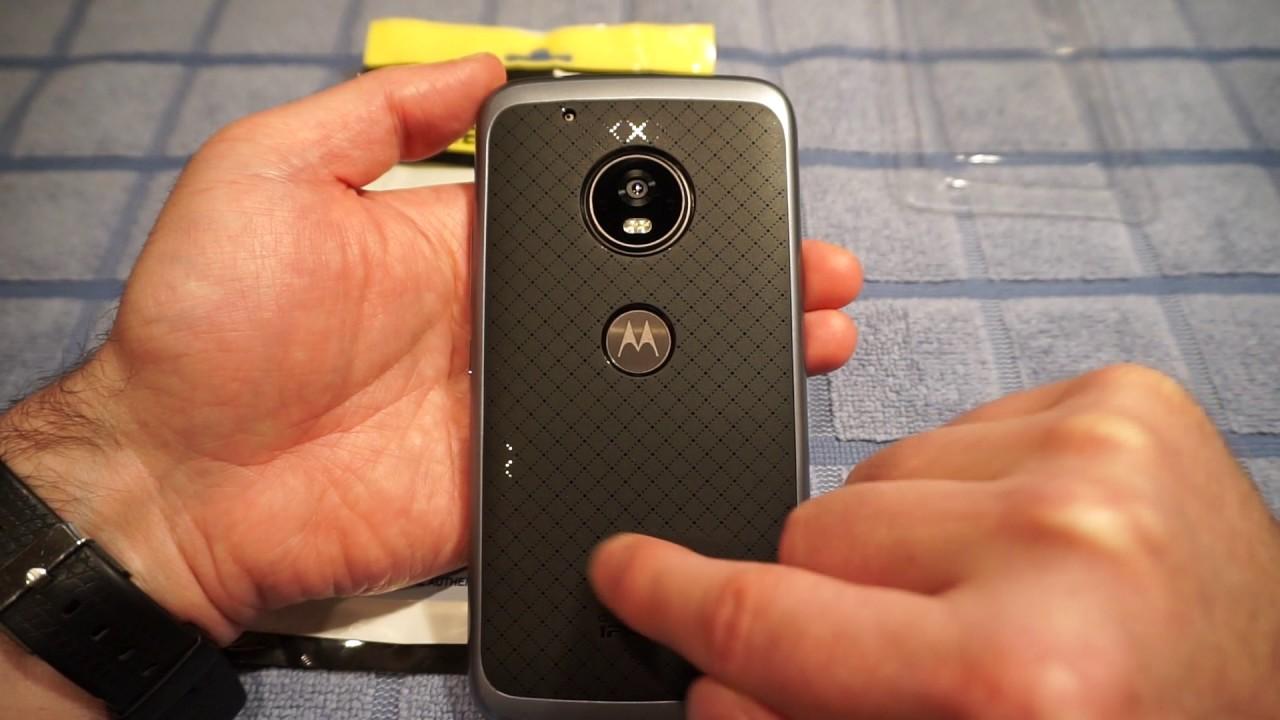 new arrival 6e139 80773 Moto G5 Plus slim bumper IPAKY case by REBEX - REVIEW