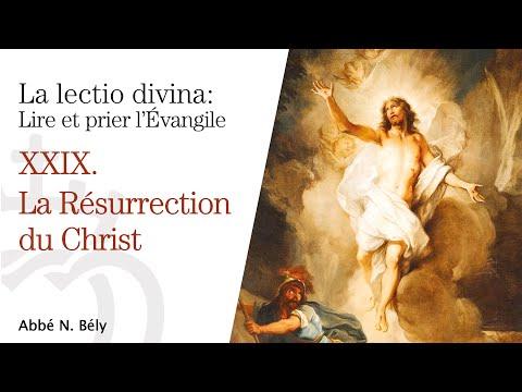 Conférences sur la Lectio divina XXIX. La Résurrection - Abbé Nicolas Bély