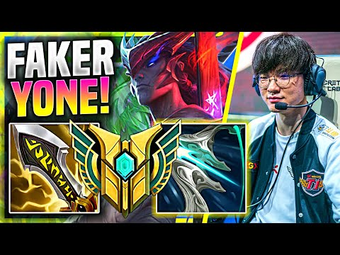 FAKER IS READY TO FIGHT KATA WITH YONE! - T1 Faker Plays Yone Mid vs Katarina! | Preseason 11