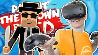 PAINT THE TOWN RED IN VIRTUAL REALITY! | KungFu Town VR (HTC Vive Gameplay)
