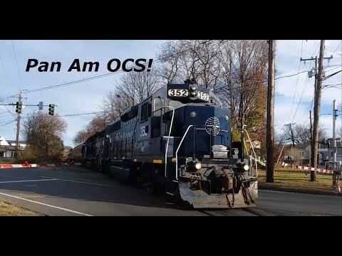 Pan Am Railway's OCS Visits Connecticut 11-14-18