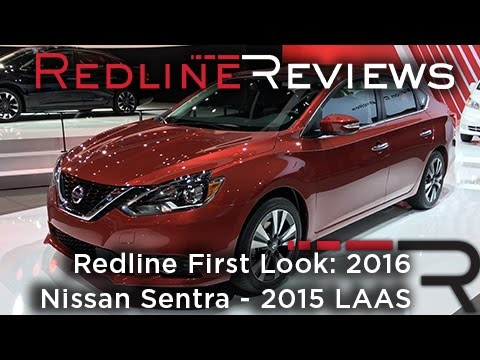 2016 Nissan Sentra – Redline: First Look – 2015 Los Angeles Auto Show