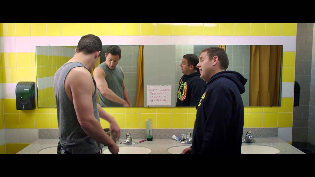 22 Jump Street Bathroom Scene