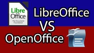 libreOffice vs OpenOffice App Suite Comparison / Review 2017