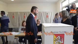 Elezioni regionali in Sicilia. Il voto dei candidati