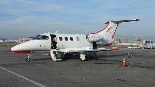JetSuite Phenom 100 flight from LAX - VNY