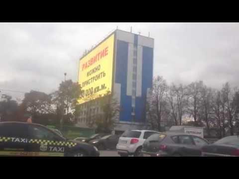Медиафасады в Москве от TRANSBUILD