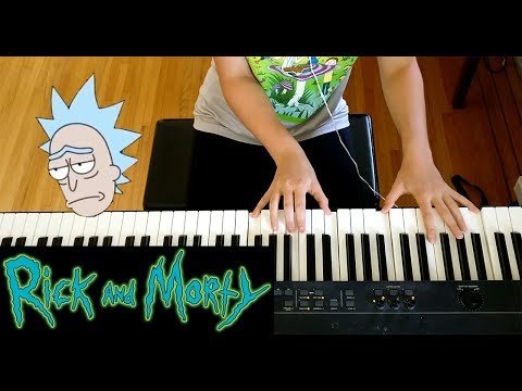 Chaos Chaos - Do You Feel It | Rick and Morty - Piano