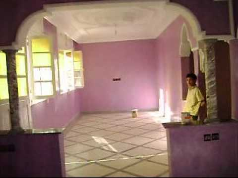 Marrakech peinture marich decoration youtube for Peinture decorative