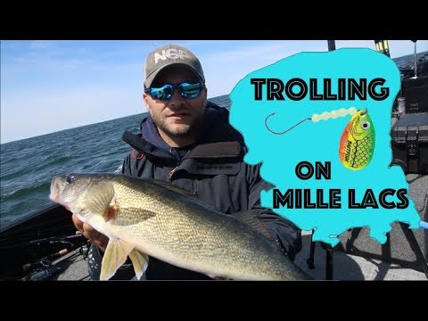 Trolling For Walleye With Spinners
