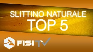 L'Italia domina nello Slittino naturale